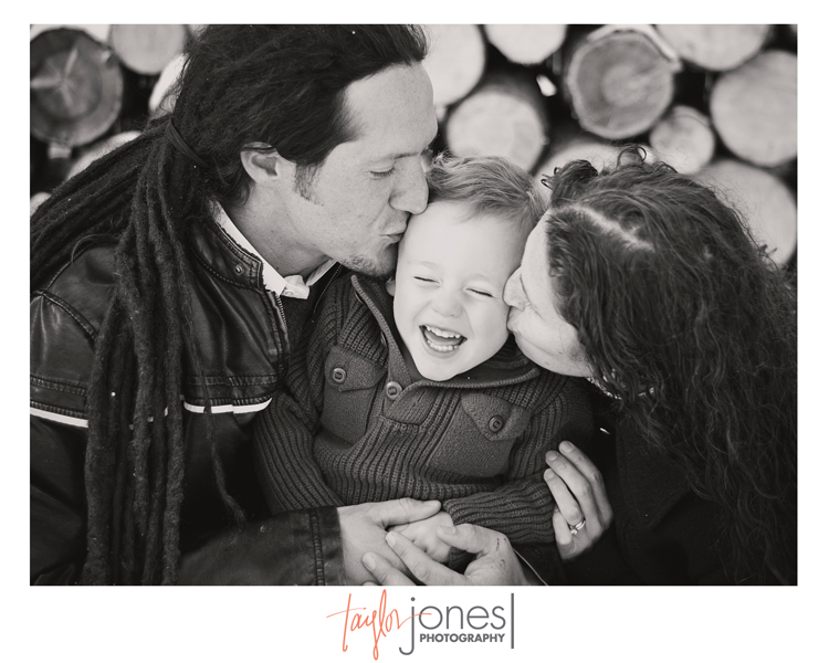 The Marino family at the Taylor Jones Photography Conifer Fall Mini Shoot