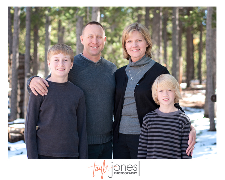 The Rose family at the Taylor Jones Photography Conifer Fall Mini Shoot