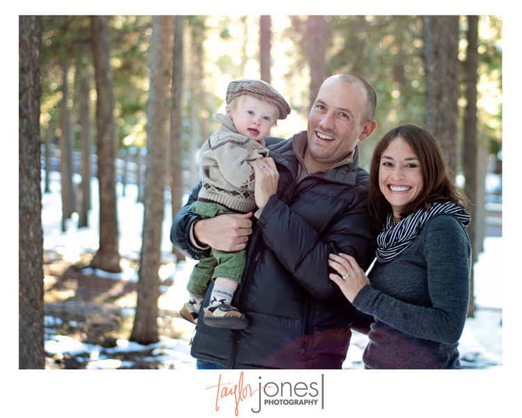 The Pritchard family at the Taylor Jones Photography Conifer Fall Mini Shoot