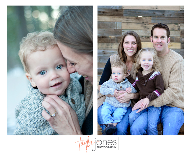 The Rodwell family at the Taylor Jones Photography Conifer Fall Mini Shoot