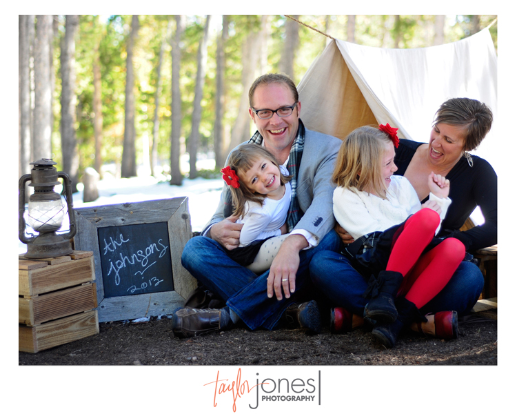 The Johnson family from Baby Kale Health at the Taylor Jones Photography Conifer Fall Mini Shoot