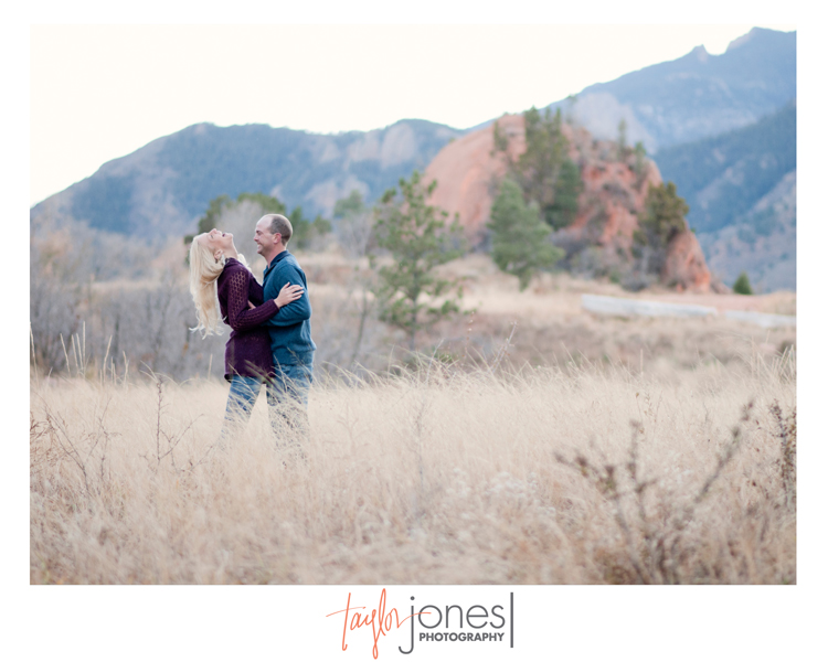 Engagement shoot with Laura and Daniel at Red Rocks Open Space in Colorado Springs, CO.