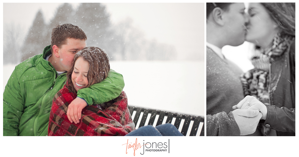 Evergreen engagement and wedding photographer