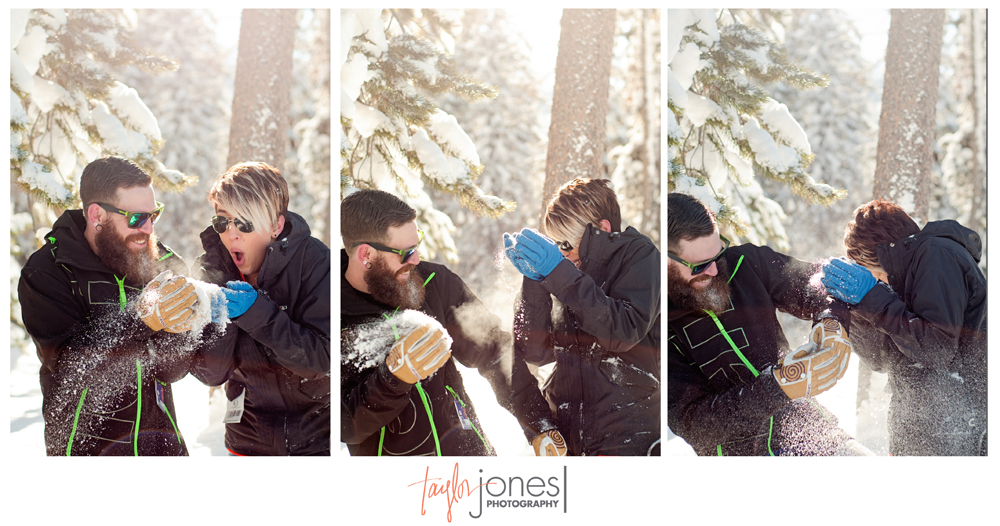 Keystone Colorado engagement and wedding photographer