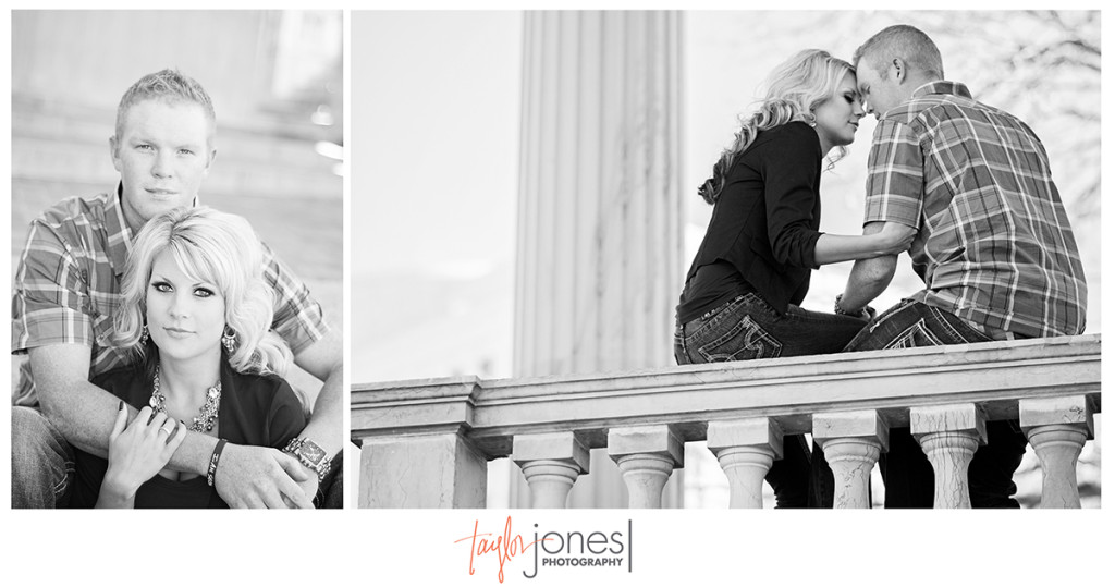 Civic center park, downtown Denver, engagement photos