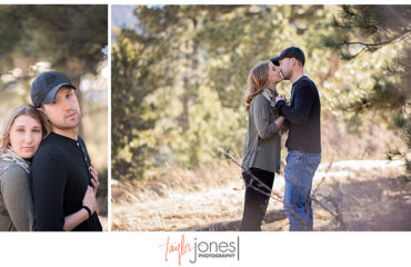 Elk Meadow engagement shoot