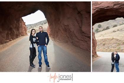 Red Rocks engagement shoot