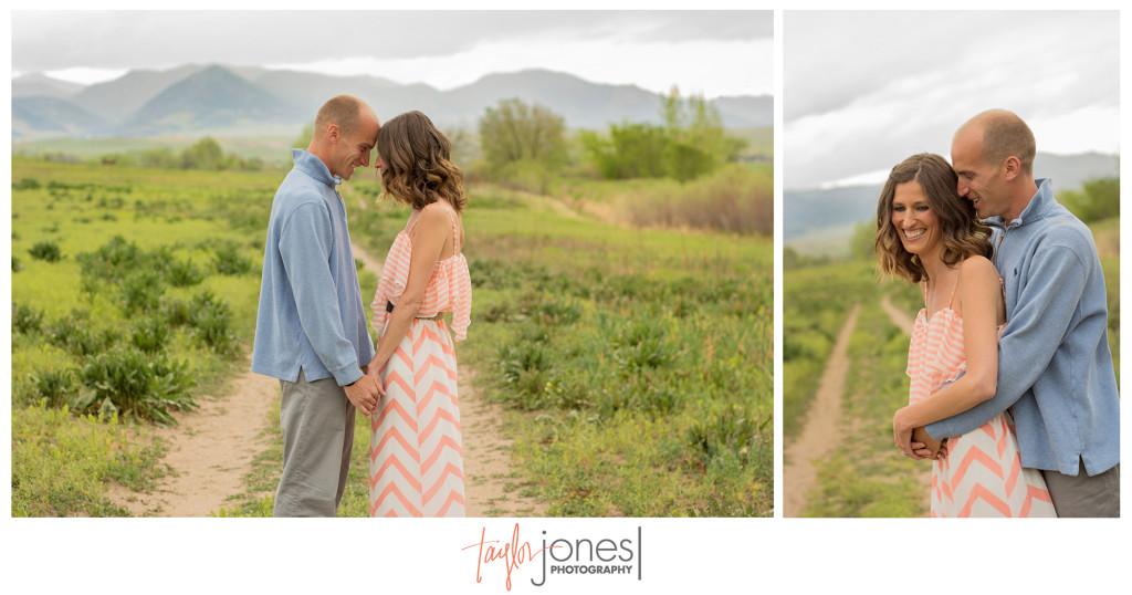 Adorable Colorado couple engagement shoot near Boulder, Colorado