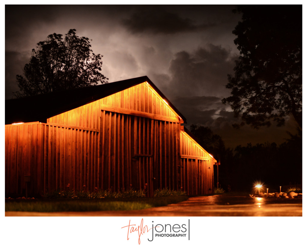 Shupe Homestead, Longmont, Colorado, Barn during a thunderstorm