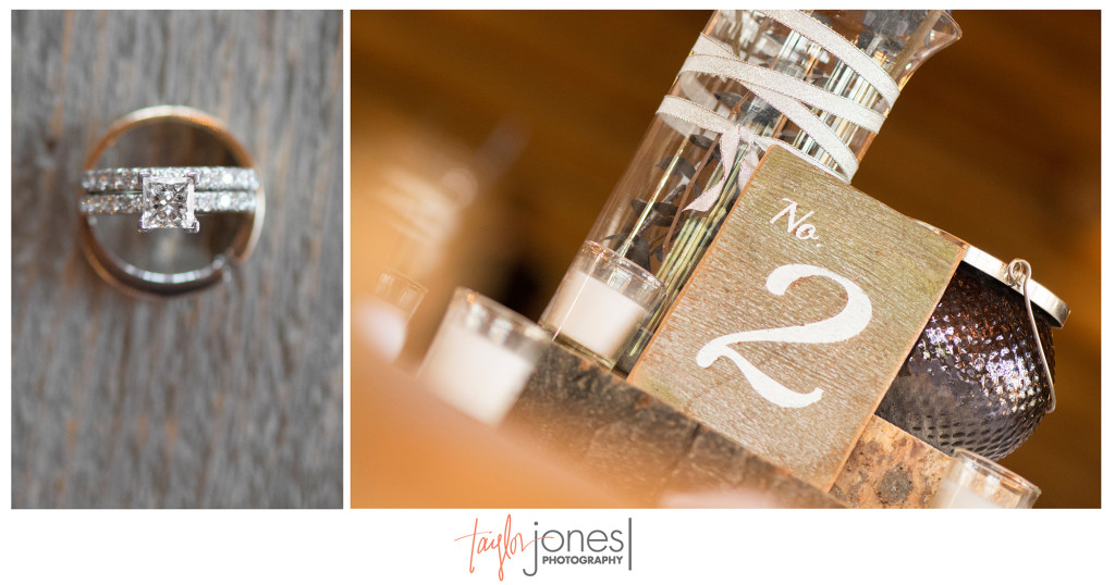 Rustic wedding at Evergreen Lakehouse