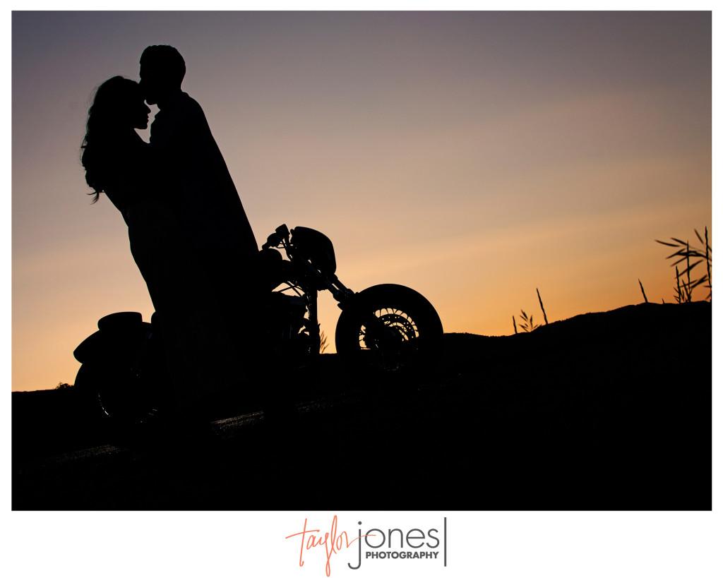 Moriah Issac Harley Davidson Stylized Engagement Shoot