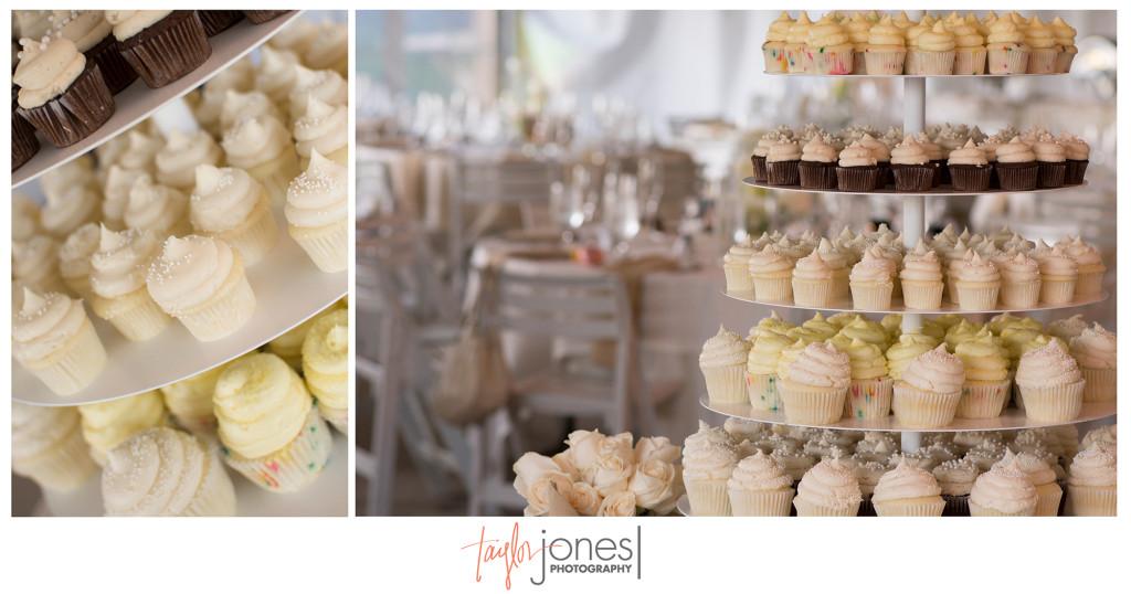 Gigi's cupcakes at Arrowhead Golf Club wedding