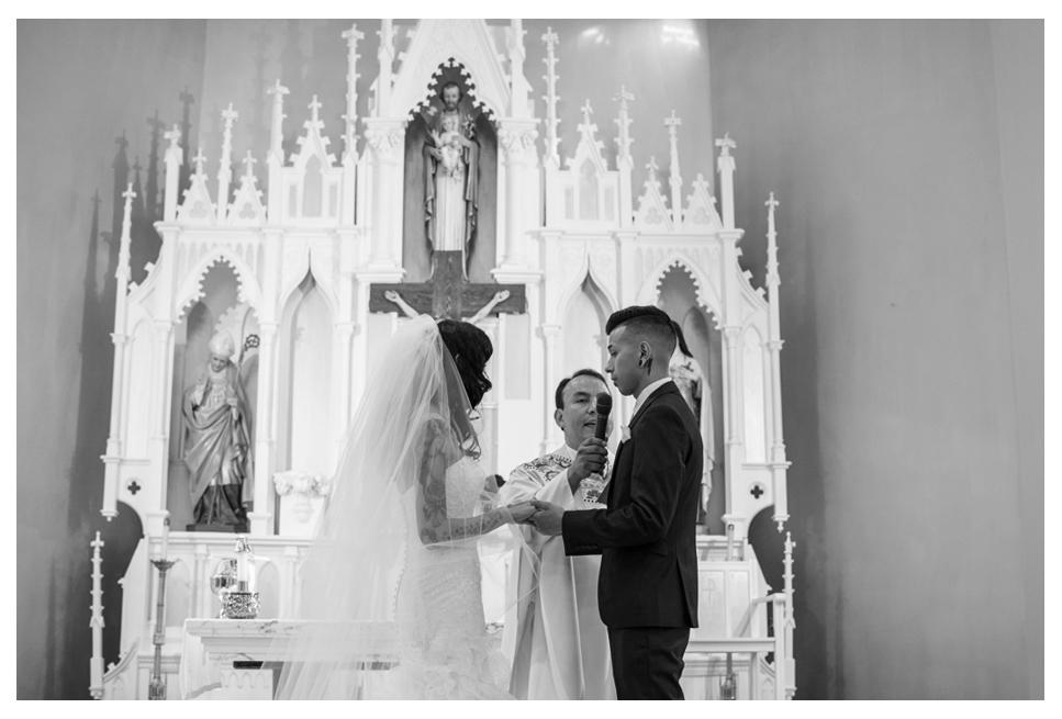 Denver Catholic wedding vows