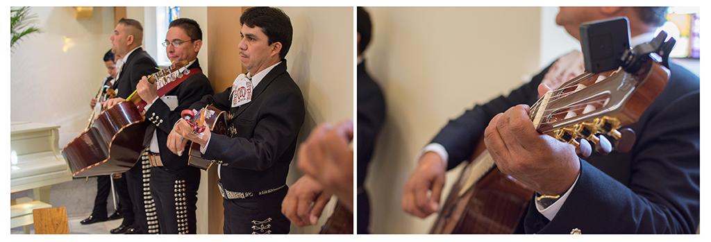 Mariachi band at Catholic wedding Denver