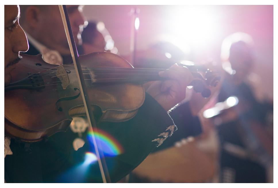 Mariachi band at Denver wedding