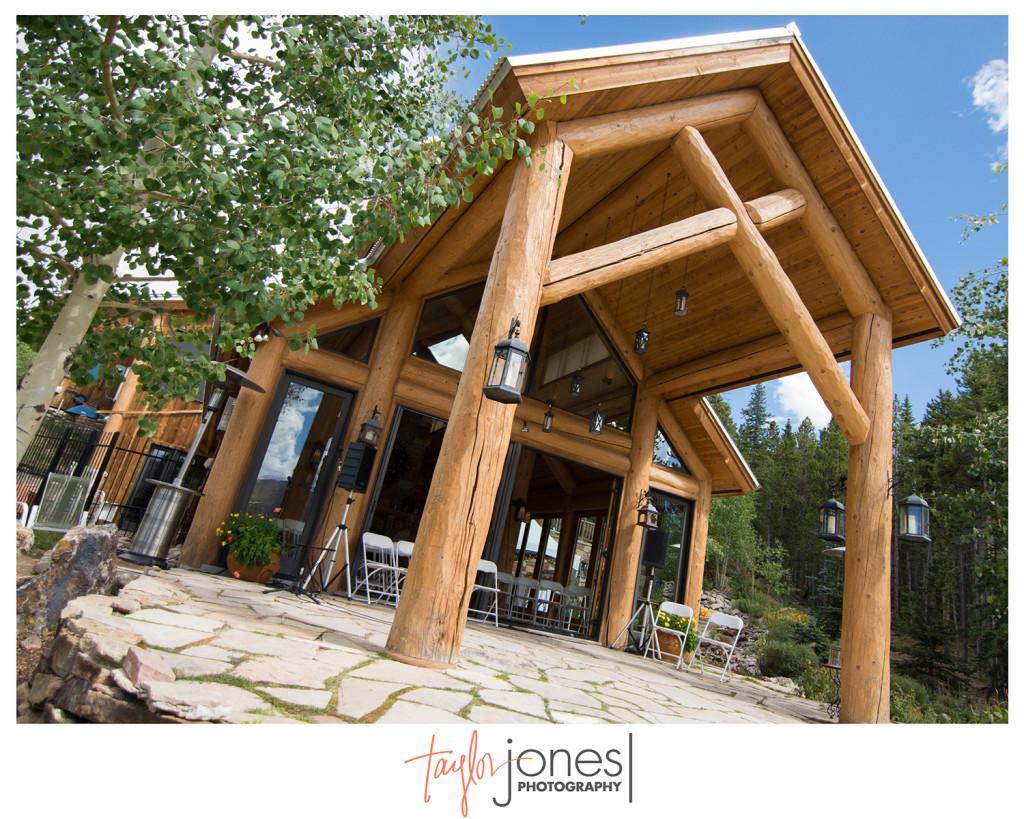 Rubywood Mountain home in Breckenridge, Colorado wedding