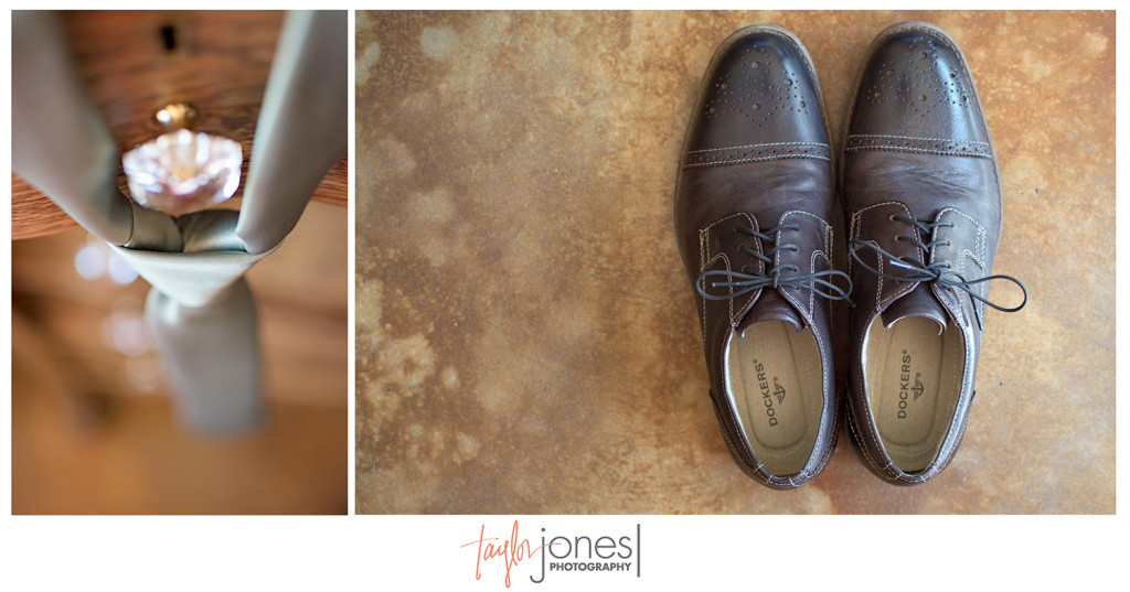 Groom details at Edgewood Inn wedding