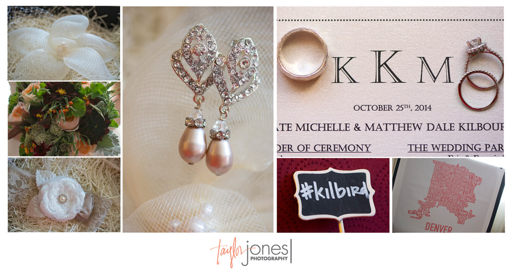 Detail photos for Kilbourne wedding