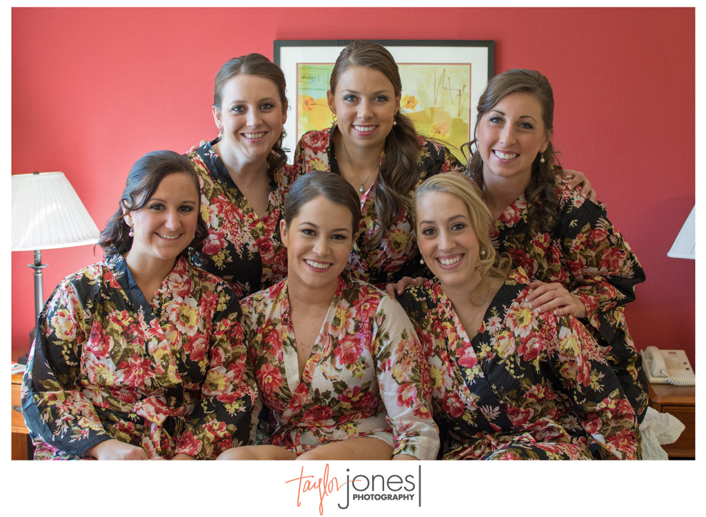 Bridal party for Pines at Genesee wedding