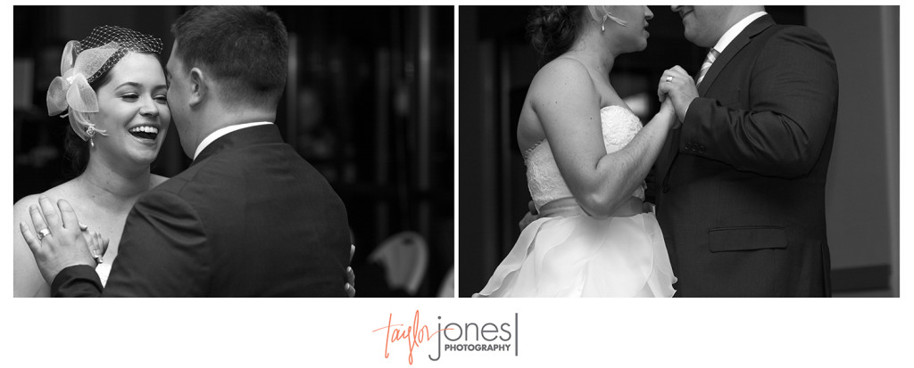 First dance at Pines at Genesee wedding