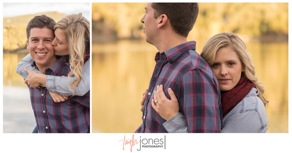 Fall engagement shoot in Evergreen Colorado