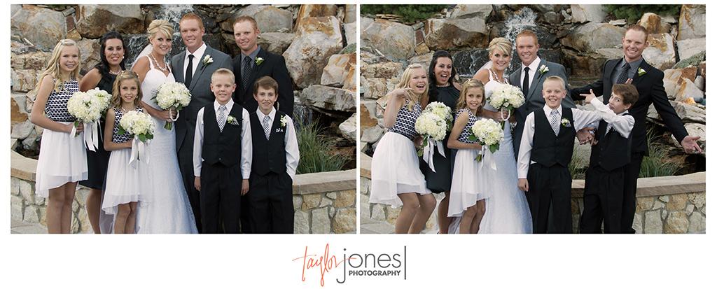 Bridal party at Cielo at Castle Pines wedding