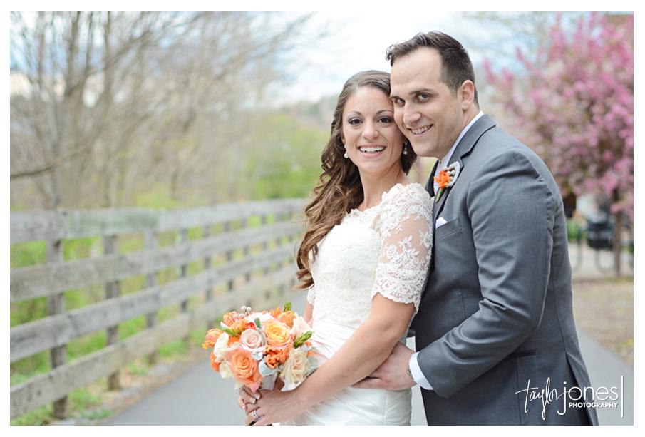 Angela and Eric spring wedding Morgantown, West Virginia