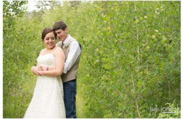 Kelsey and Cody rustic mountian wedding