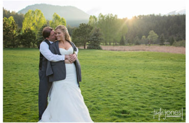 Evergreen spring wedding at Evergreen Lake House