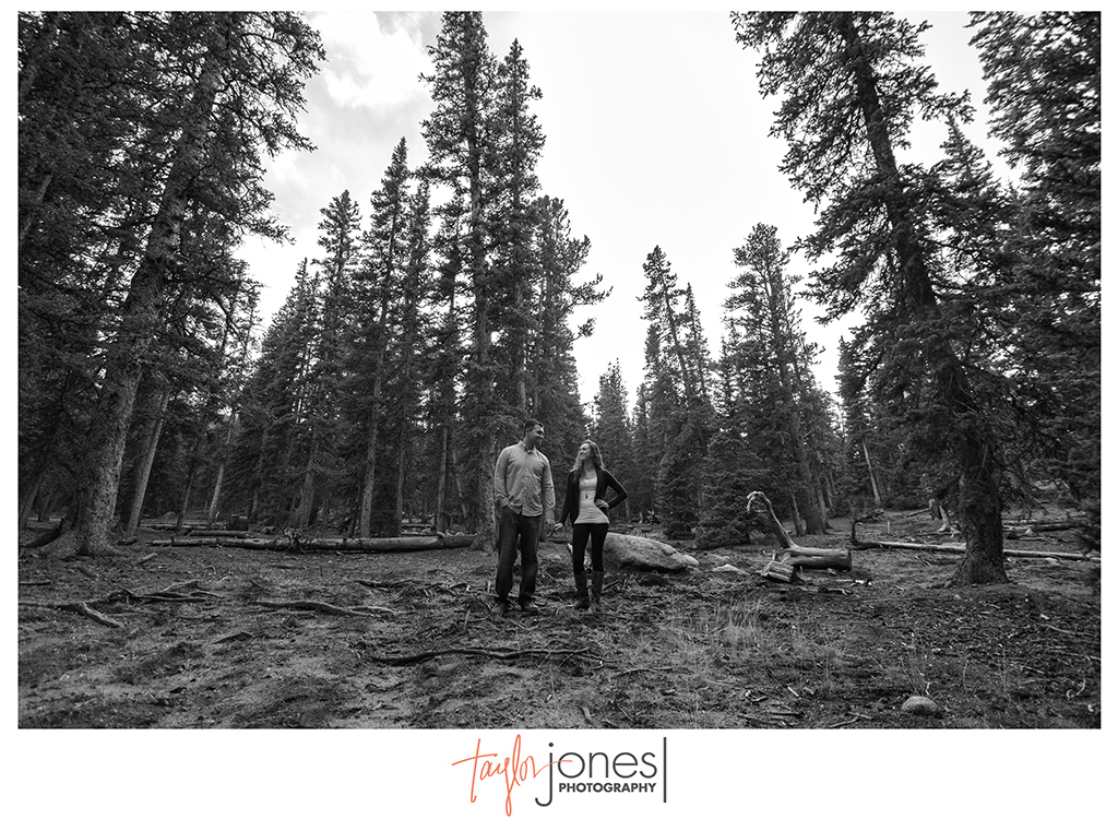 Engagement shoot at Mt. Evans