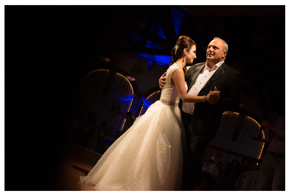 Father daughter dance at Armenian Mirage Wedding