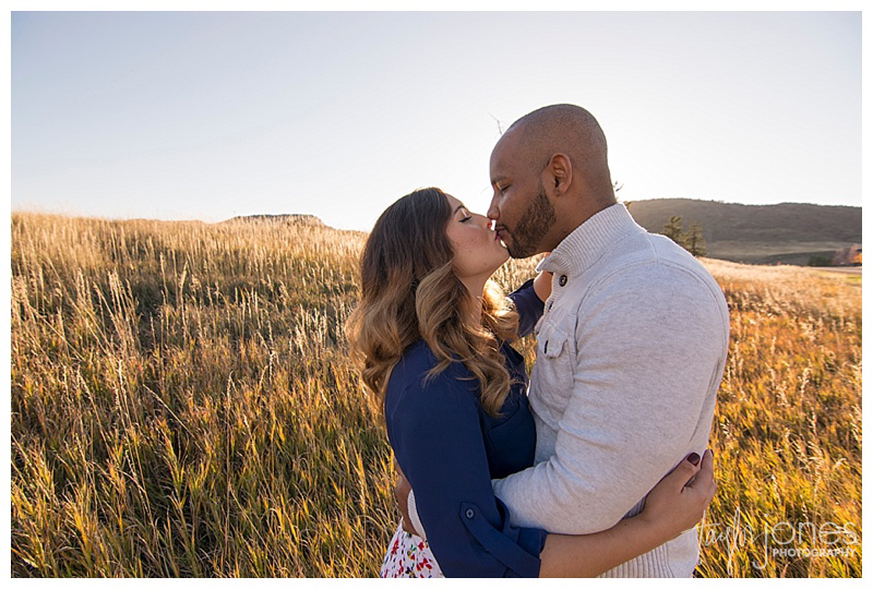 Colorado Springs fall engagement shoot