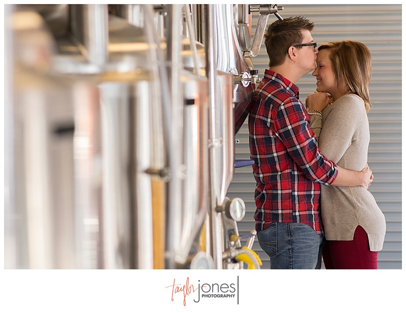 Cannonball Creek Brewery engagement shoot