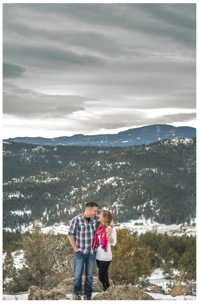 Morning engagement shoot at Mt. Falcon