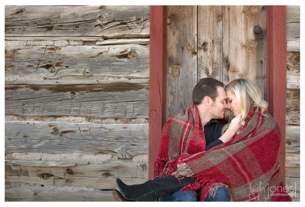 Engagement shoot in Golden Colorado