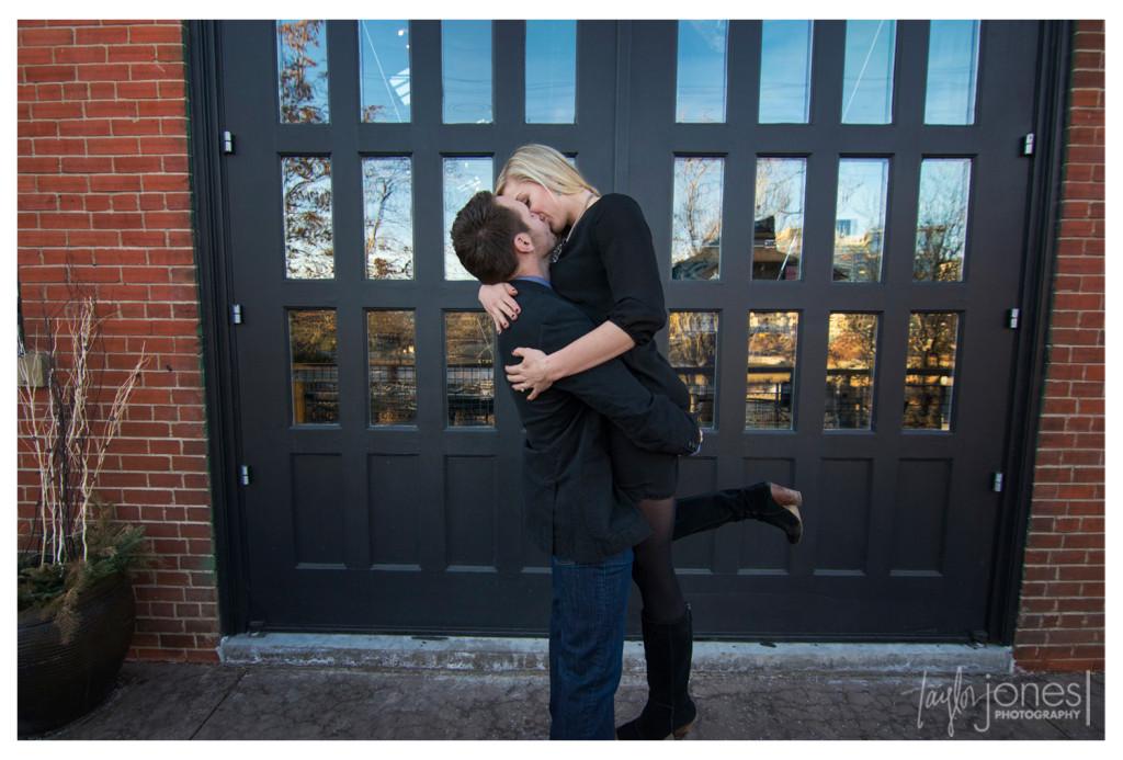 Downtown Denver engagement shoot photographer