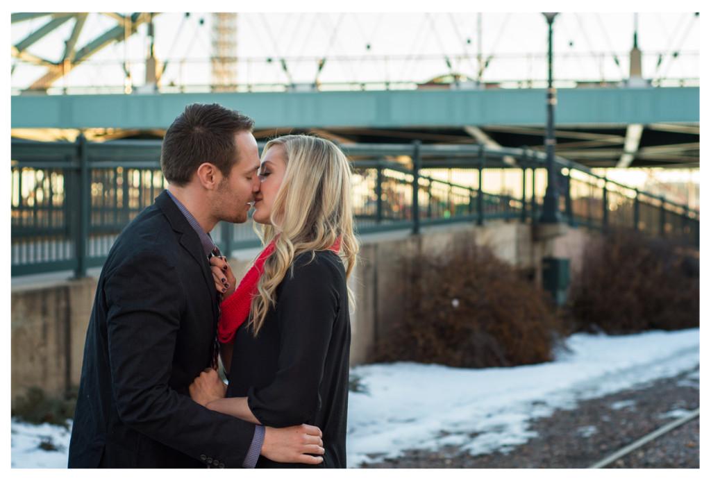 Downtown Denver engagement shoot