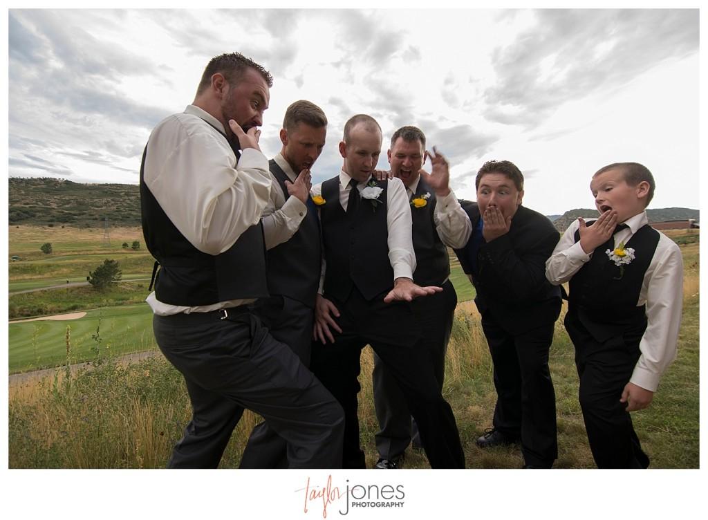 Groomsmen at Terrace Gardens wedding