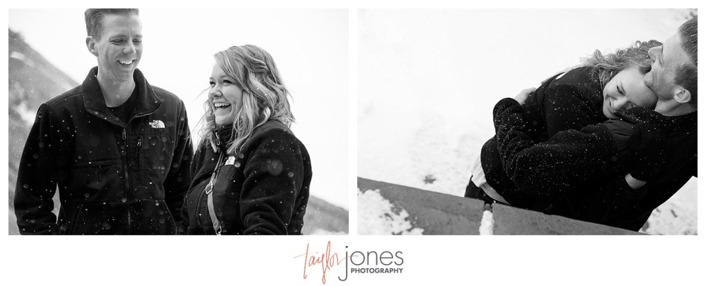 Snowy Red Rocks winter proposal