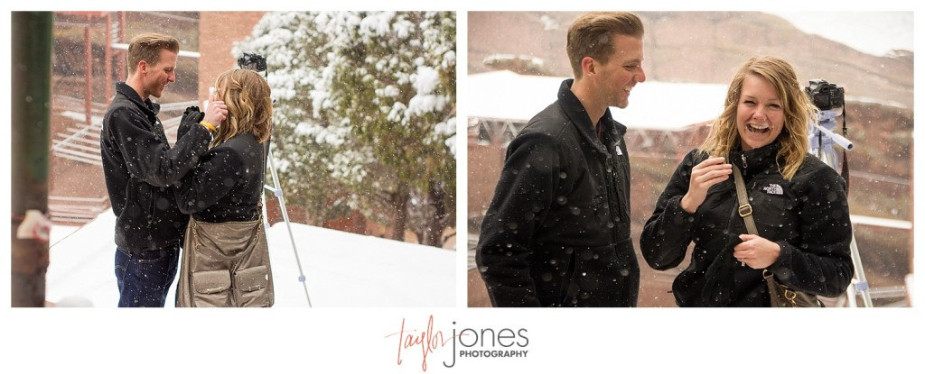 Red Rocks winter proposal
