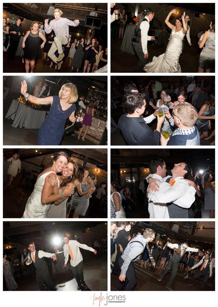 Dancing at Mile High Station Denver Wedding