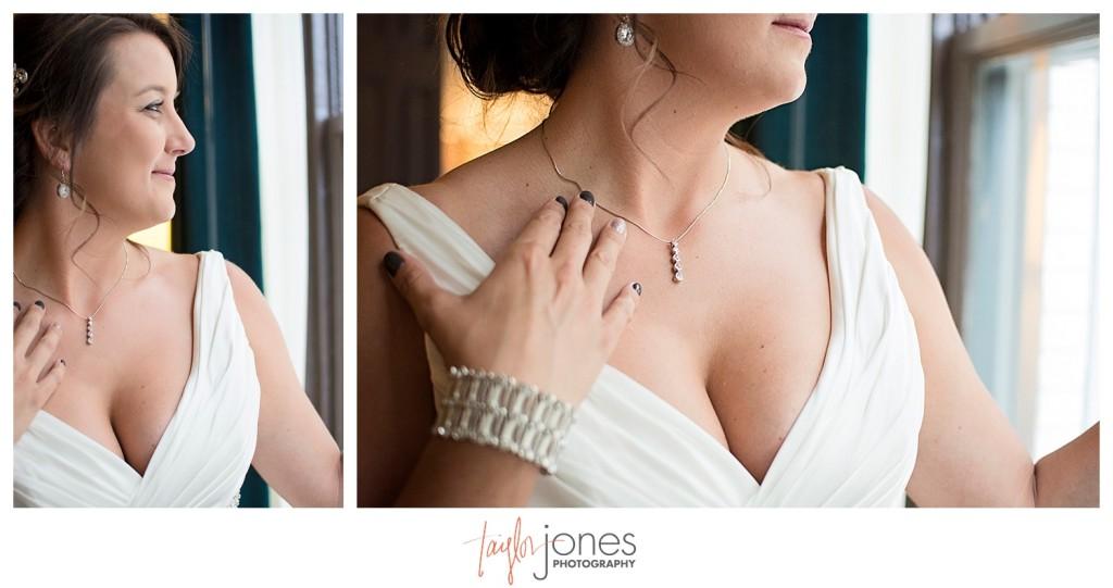 Detail photos of Denver bride