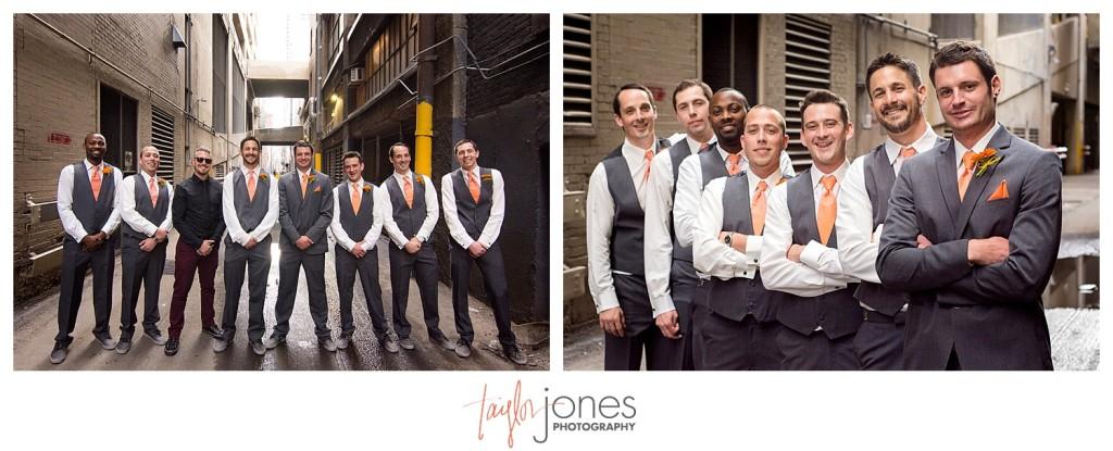 Groomsmen at Denver wedding