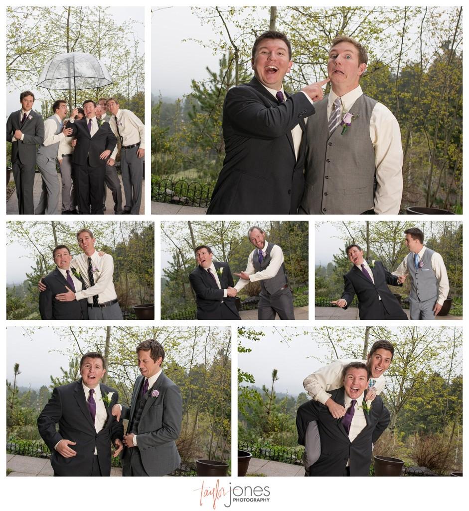 Groomsmen at Pines at Genesee wedding