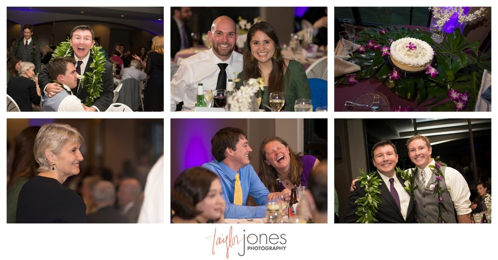 Guests at Reception at Pines at Genesee wedding
