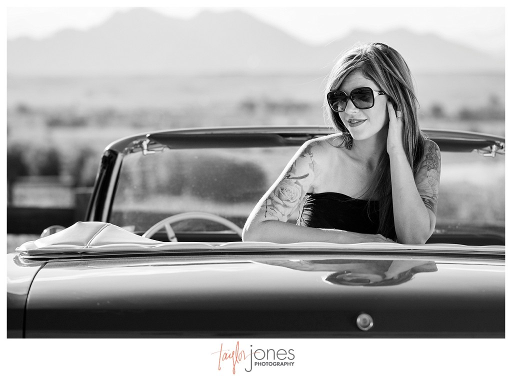 Standley Lake Mustang styled shoot