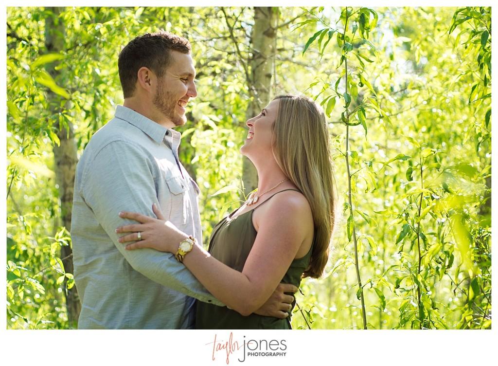 Colorado engagement shoot at Lair O the Bear