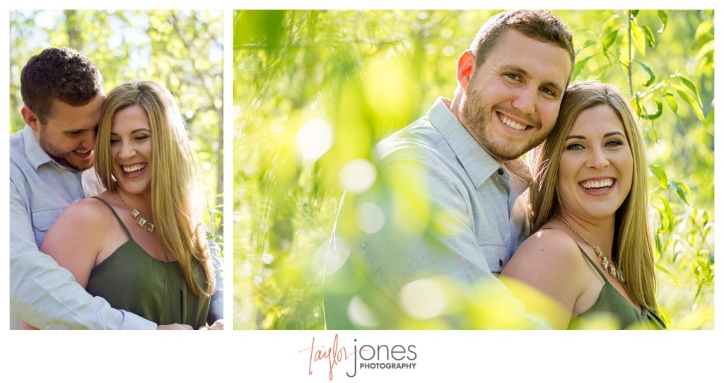 Colorado engagement shoot at Lair O the Bear couple portraits