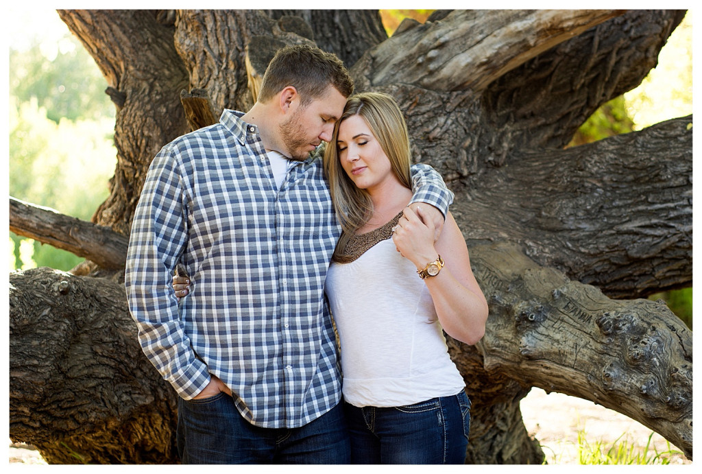 Colorado engagement shoot at Lair O the Bear in the trees