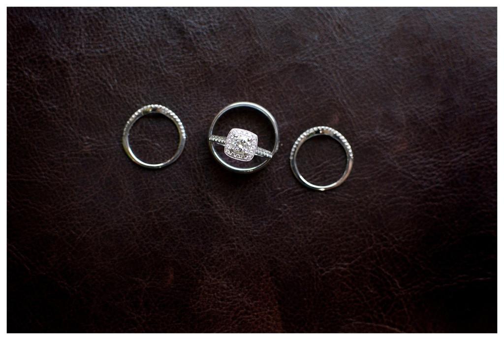 Ring photos at Baldoria on the water wedding Denver Colorado